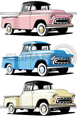 American pickup | Stock Vector Graphics |ID 3014930