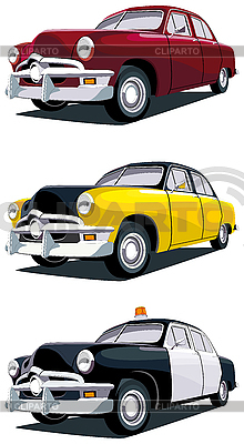 American vintage car | Stock Vector Graphics |ID 3014934