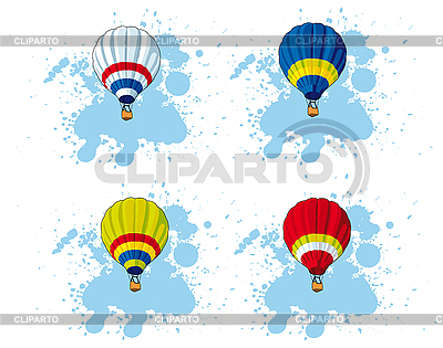 Heißluftballon | Stock Vektorgrafik |ID 3014944