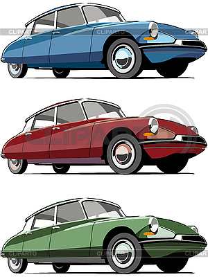 Old French cars | Stock Vector Graphics |ID 3014952