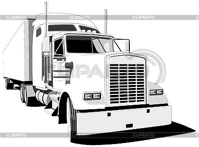 Truck | Stock Vector Graphics |ID 3015002