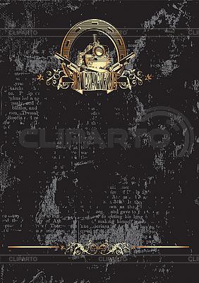 Wild West black   Klipart wektorowy  ID 3015006