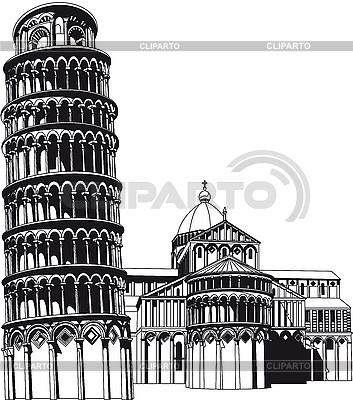 Campo Dei Miracoli   Stock Vector Graphics  ID 3015036
