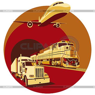 Cargo transportation | Stock Vector Graphics |ID 3015044