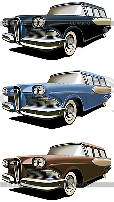 Old station wagon | Stock Vector Graphics |ID 3015085