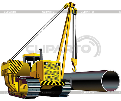 Pipelayer | Stock Vector Graphics |ID 3015091