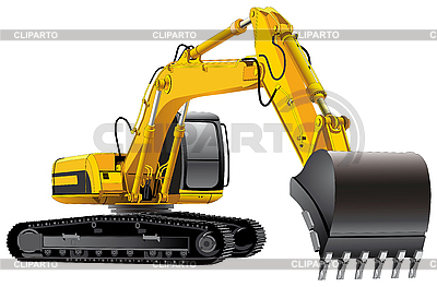Power Excavator | Ilustración vectorial de stock |ID 3015093