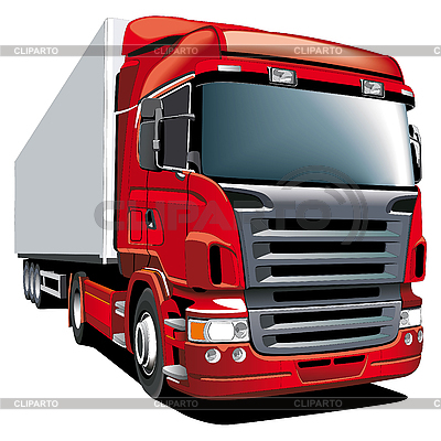 Red truck | Stock Vector Graphics |ID 3015099
