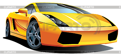 Modern sport car | Stock Vector Graphics |ID 3015187