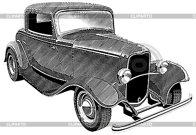 Vintage car engraving | Stock Vector Graphics |ID 3015215