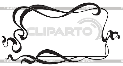 Frame in style Art Nouveau | Stock Vector Graphics |ID 3026726