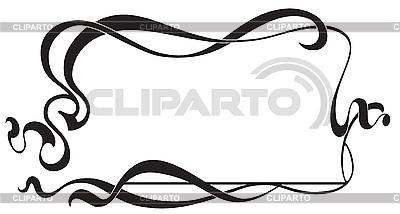 Marco en estilo Art Nouveau | Ilustración vectorial de stock |ID 3026726