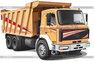 Dump Truck | Stock Vector Graphics |ID 3325702