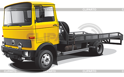 Old-fashioned tow truck   Stock Vector Graphics  ID 3325732