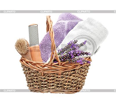 Spa-Hintergrund mit Lavendel   Foto mit hoher Auflösung  ID 3013189