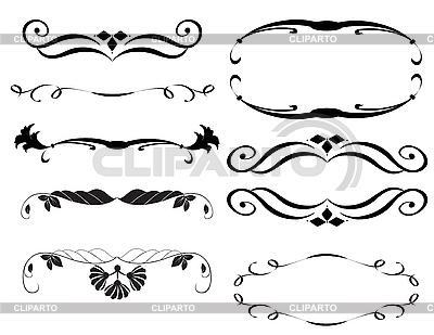 Ornamentale Design-Elemente | Stock Vektorgrafik |ID 3014157