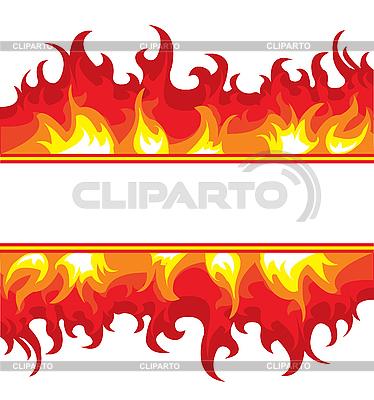 Płonący ogień | Klipart wektorowy |ID 3014181