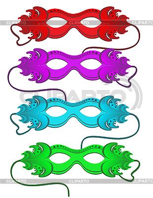 Carnival Masks | Stock Vector Graphics |ID 3014309