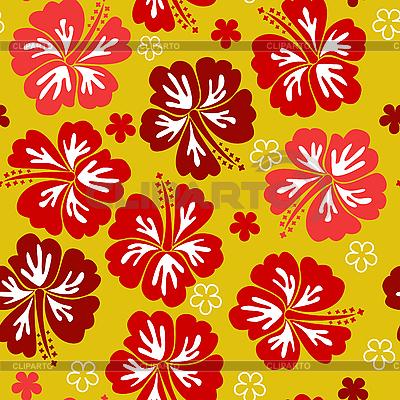 Nachtloses gelbes Blumenmuster | Stock Vektorgrafik |ID 3014480