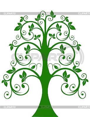 투각 나무 | 벡터 클립 아트 |ID 3014697