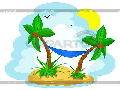 코코넛 야자수 | 벡터 클립 아트 |ID 3018712