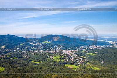 Panorama Baden-Baden | Foto mit hoher Auflösung |ID 3018726