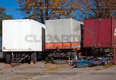 Alte LKW | Foto mit hoher Auflösung |ID 3018927