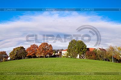 Beautiful rural landscape    High resolution stock photo  ID 3019074