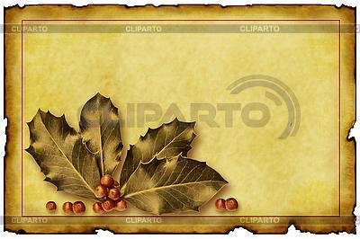Old Christmas Card | Stockowa ilustracja wysokiej rozdzielczości |ID 3019258