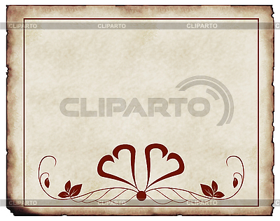 Old paper background with ornaments | High resolution stock illustration |ID 3019280