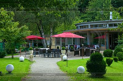 Café im Park | Foto mit hoher Auflösung |ID 3019355