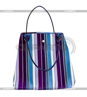 Modische Handtasche isoliert auf Weiß | Foto mit hoher Auflösung |ID 3024369