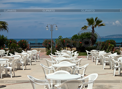 Cafe na plaży   Foto stockowe wysokiej rozdzielczości  ID 3024433