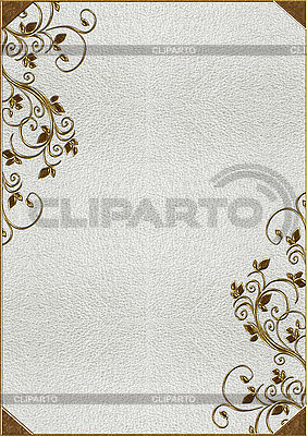 Texture of the skin with gold lettering | High resolution stock photo |ID 3038240