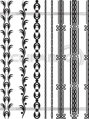 设计边框元素   向量插图  ID 3059472