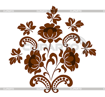 Kwiatowy wzór | Klipart wektorowy |ID 3111167