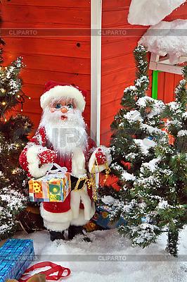 Santa Claus mit Geschenken | Foto mit hoher Auflösung |ID 3113168