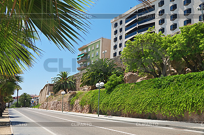 A panoramic view of Tarragona in Spain | High resolution stock photo |ID 3176785