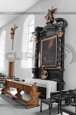 가톨릭 교회의 내부. 스위스 | 높은 해상도 사진 |ID 3278174