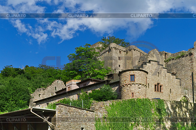 Ruins of old castle. Europe. Baden-Baden | High resolution stock photo |ID 3344275