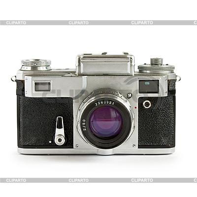 Stary aparat dalmierz samodzielnie | Foto stockowe wysokiej rozdzielczości |ID 3015228