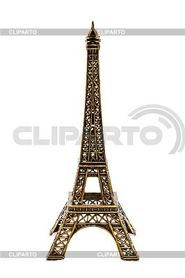 Kleine Bronze-Kopie des Eiffel-Turmes | Foto mit hoher Auflösung |ID 3015314