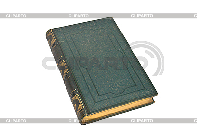 Old green book isolated | High resolution stock photo |ID 3015329