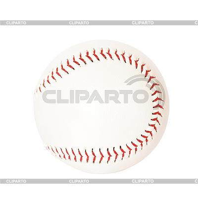 Ball für Baseball auf Weiß | Foto mit hoher Auflösung |ID 3015345