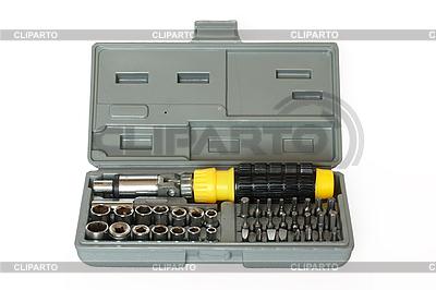 Schraubendreher und Schraubenschlüssel-Set | Foto mit hoher Auflösung |ID 3015348