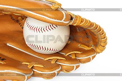 Baseball łapacz z piłką | Foto stockowe wysokiej rozdzielczości |ID 3015349
