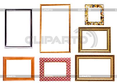 Sammlung von isolierten Bilderrahmen | Foto mit hoher Auflösung |ID 3015445