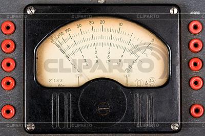 Klassische analoge Skala eines Meßgerät | Foto mit hoher Auflösung |ID 3015505