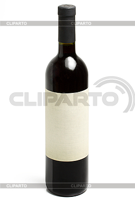 Wine bottle isolated | High resolution stock photo |ID 3015591