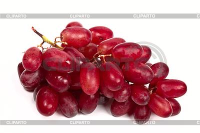 Гроздь красного винограда | Фото большого размера |ID 3015673